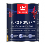 Краска инт. Tikkurila EURO Power 7 А 9л